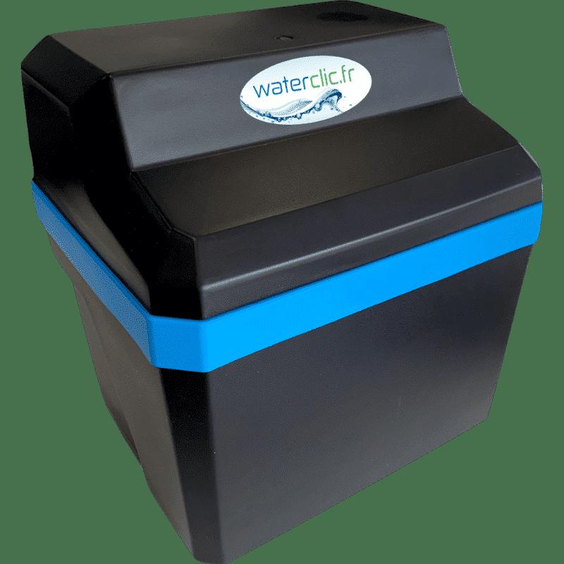Adoucisseur d'eau sans électricité compact - WATERCLIC